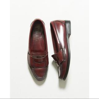 コールハーン(Cole Haan)のコールハーン ローファー レザー シンプル モカシン 茶 6B 23.5(ローファー/革靴)