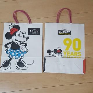 ディズニー(Disney)のミッキー 紙袋(ショップ袋)