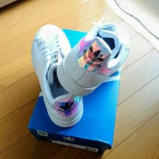 アディダス(adidas)の【在庫僅少】限定入荷 スタンスミスJ STAN SMITH J  オーロラ(スニーカー)