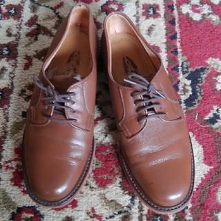 ハッシュパピー(Hush Puppies)のカジュアルシューズ革靴ブラウン(ローファー/革靴)