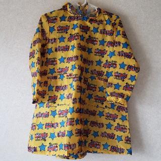 キッズフォーレ(KIDS FORET)の キッズフォーレ Kids Foret レインコート 乗り物 手提げ袋付き(レインコート)