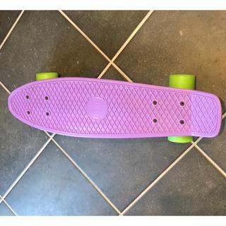 penny ペニー スケボー 紫(スケートボード)