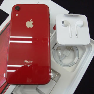 アップル(Apple)のdocomo iPhone XR 128GB Product Red(スマートフォン本体)