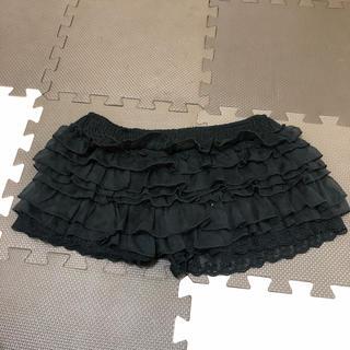 ペチショートパンツ黒(レギンス/スパッツ)