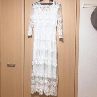 二次会ドレス 花嫁 前撮り(ロングドレス)