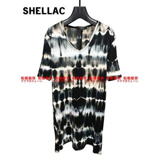 シェラック(SHELLAC)のSHELLAC 絞り染めカットソー(Tシャツ/カットソー(半袖/袖なし))