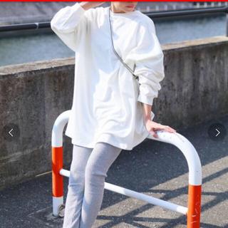 レカ人気アイテム・ボリューム袖ゆったりスウェット・インスタ(トレーナー/スウェット)