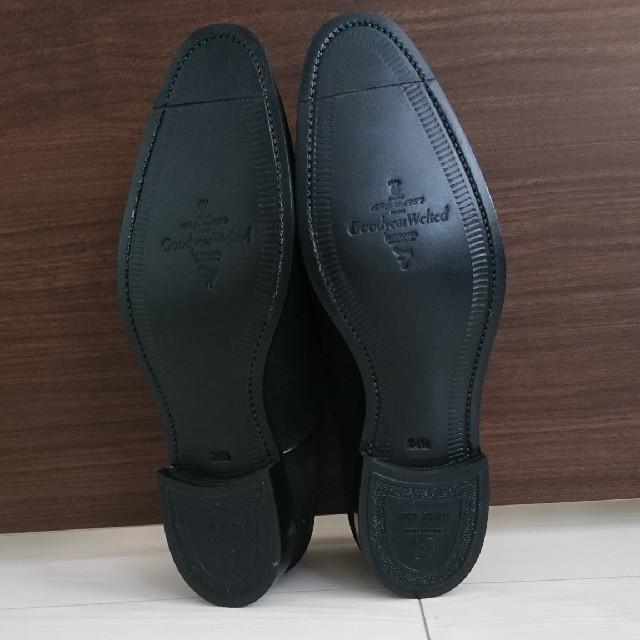 スコッチグレイン 三越伊勢丹オリジナル 03444 BL 24.5cm メンズの靴/シューズ(ドレス/ビジネス)の商品写真