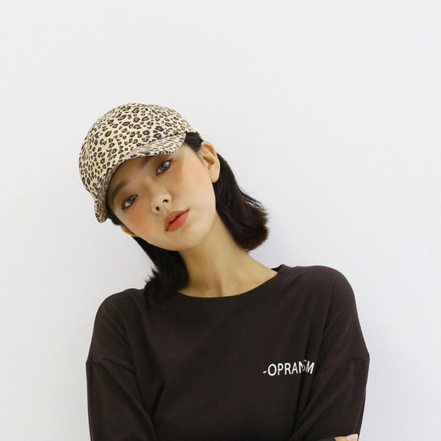 STYLENANDA(スタイルナンダ)のヒョウ柄キャップ レディースの帽子(キャップ)の商品写真