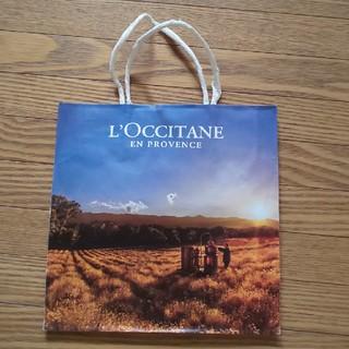 ロクシタン(L'OCCITANE)のL'OCCITANE ショッパー 約24cm×24cm×12cm(ショップ袋)
