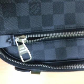 ルイヴィトン メンズ ボディーバッグ ウエストポーチ ダミエ N41289 美品(ボディーバッグ)