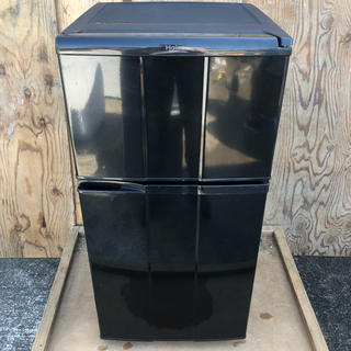 ハイアール(Haier)の近郊送料無料♪ 一人暮らしに最適98L ブラック Haier JR-N100C(冷蔵庫)