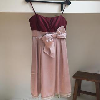 エメ(AIMER)のキャミソール型パーティドレス(ミディアムドレス)