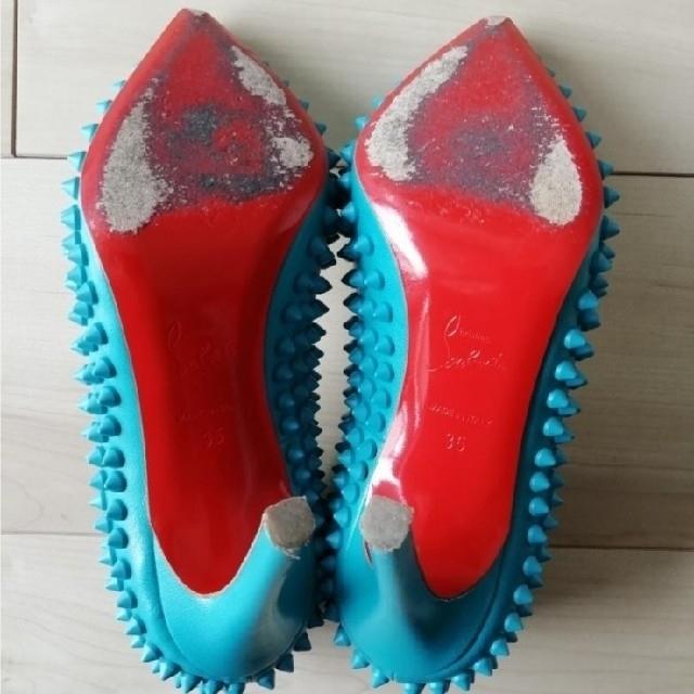 Christian Louboutin(クリスチャンルブタン)の[最終値下][美品]クリスチャンルブタン スパイクパンプス レディースの靴/シューズ(ハイヒール/パンプス)の商品写真