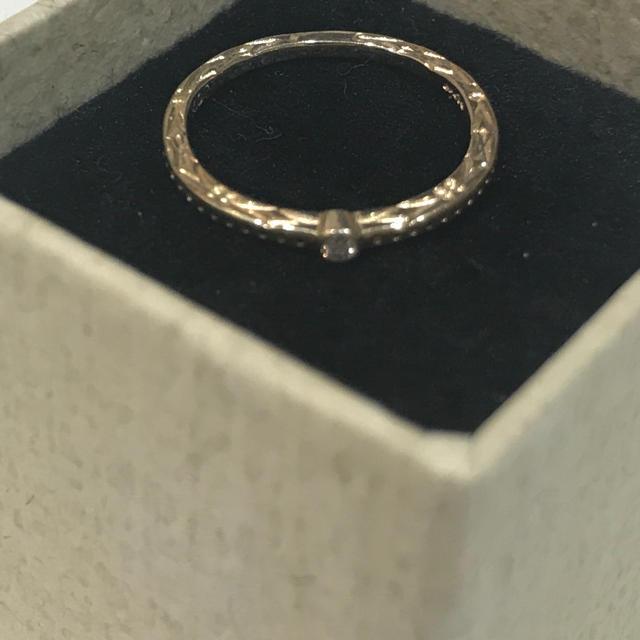agete(アガット)の【専用】アガット  ピンキーリング 1号  10K レディースのアクセサリー(リング(指輪))の商品写真