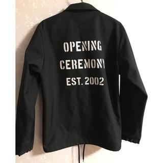 オープニングセレモニー(OPENING CEREMONY)のopening ceremony  コーチジャケット(ナイロンジャケット)