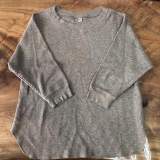 ユニクロ(UNIQLO)のしょこ様専用!ユニクロ ワッフルクルーネックT(7分袖)(Tシャツ(長袖/七分))