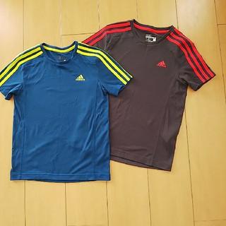 アディダス(adidas)のアディダス 美品★ティーシャツ 140(Tシャツ/カットソー)