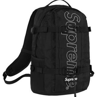 シュプリーム(Supreme)のSupreme 18FW backpack black(バッグパック/リュック)