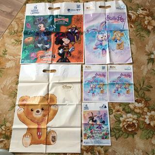 ディズニー(Disney)のディズニー ショップ袋 2018 ハロウィン イースター ステラルー お土産袋(ショップ袋)