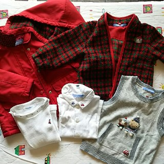 ファミリア(familiar)のファミリア子供服セット(Tシャツ/カットソー)