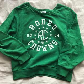 ロデオクラウンズ(RODEO CROWNS)のrodeocrownsの薄手スウェット(トレーナー/スウェット)