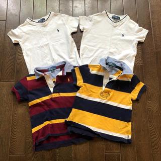 ラルフローレン(Ralph Lauren)のラルフローレン 半袖 ポロシャツ Tシャツ 90 4枚セット(Tシャツ/カットソー)