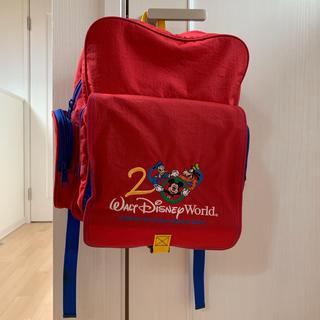 ディズニー(Disney)のディズニーワールド バックパッカー リュック 2000年 レア(リュック/バックパック)