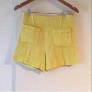 ザラ(ZARA)の美品♡ ZARA 大人可愛いフリンジショートパンツ(ショートパンツ)