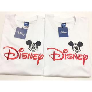 ディズニー(Disney)のディズニー ペアルック  ミッキー  Tシャツ(キャラクターグッズ)