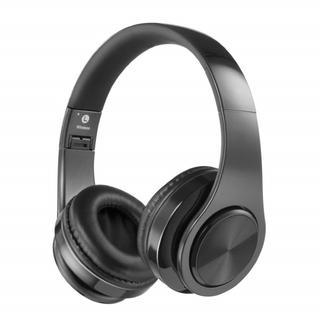 ★新品★ Bluetoothヘッドホン 折りたたみ可能 黒色(ヘッドフォン/イヤフォン)