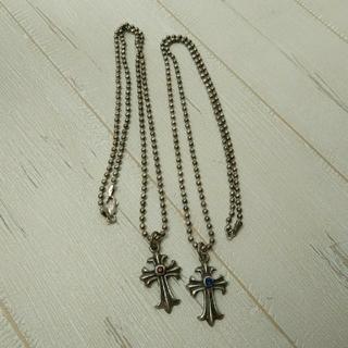 ペアネックレス ネックレス 十字架(ネックレス)