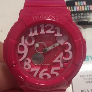 ベビージー(Baby-G)のBaby-G ネオンダイアルシリーズ BGA130-4BJF(腕時計)