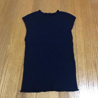 スウィングル(Swingle)の夏用 フレンチスリーブニット(カットソー(半袖/袖なし))