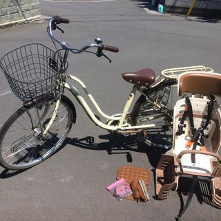 自転車 26インチ 子供のせ お洒落(自転車本体)
