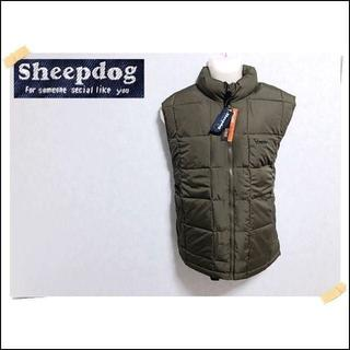 【Sheepdog】 美品 シープドッグ ウォームアンドライト 中綿ベスト XL(ダウンベスト)