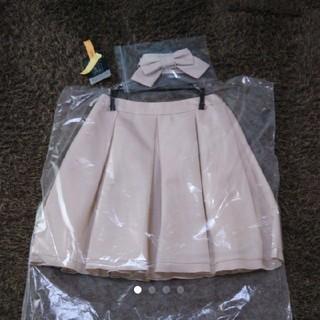 トゥービーシック(TO BE CHIC)のTO BE CHIC  スカート  ピンク 38  セレモニー 入学式 入園式(ひざ丈スカート)
