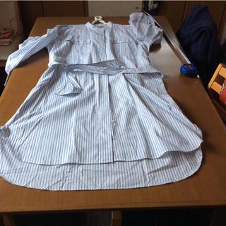 ジェイダブリューアンダーソン(J.W.ANDERSON)のjwanderson綿100シャツワンピL(ロングワンピース/マキシワンピース)