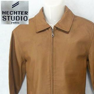 【HECHTER STUDIO】 良品 羊革ジャケット ブラウン サイズL(レザージャケット)