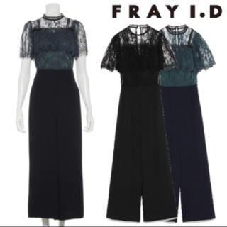 フレイアイディー(FRAY I.D)の新品未使用  レースコンビコンビネゾン FWFO184538 (オールインワン)