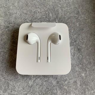 アイフォーン(iPhone)の新品未使用 iPhone 純正 イヤホン (ヘッドフォン/イヤフォン)