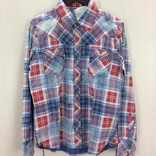 ティーエムティー(TMT)のTMT チェックシャツ Mサイズ(シャツ)