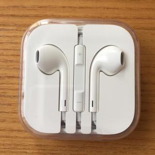 アイフォーン(iPhone)のiPhone 純正 イヤフォン(ヘッドフォン/イヤフォン)
