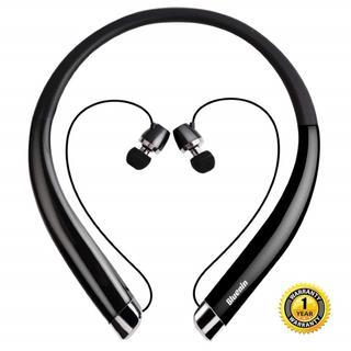 ★新品★ Bluetooth ネックバンドイヤホン ワイヤレス ハンズフリー(ヘッドフォン/イヤフォン)
