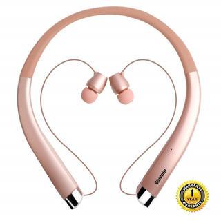 ★即日発送★ Bluetooth ネックバンドイヤホン ワイヤレス(ヘッドフォン/イヤフォン)