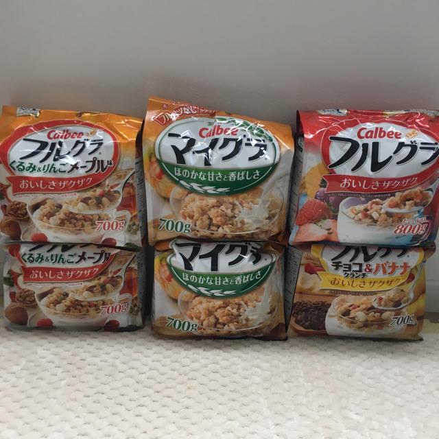 カルビー(カルビー)のフルグラ マイグラ6袋セット 食品/飲料/酒の食品(その他)の商品写真