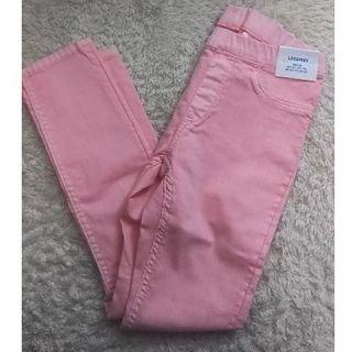 エイチアンドエム(H&M)のH&M スキニーパンツ ピンク EUR128 130㎝(パンツ/スパッツ)