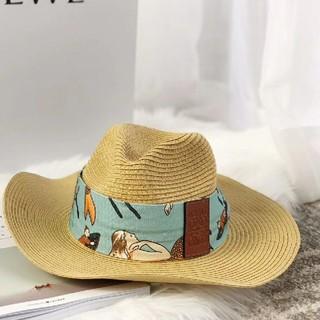 ロエベ(LOEWE)のロエベ麦わら帽子(麦わら帽子/ストローハット)