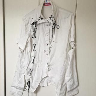 エーシーディーシーラグ(ACDC RAG)のPUNK アシメシャツ(シャツ/ブラウス(長袖/七分))