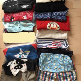 ムジルシリョウヒン(MUJI (無印良品))の男児服まとめ売り16点(80〜110センチ)(その他)